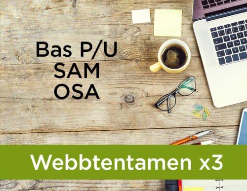 Webbtentamen SAM OSA och BAs p